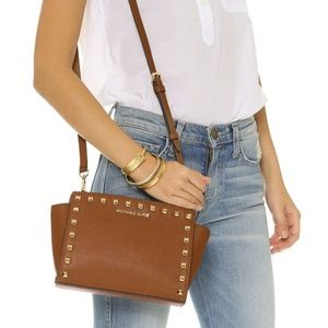 Michael Kors Selma Stud Messenger Bag